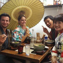 Retrouvailles et immersion dans Kyoto