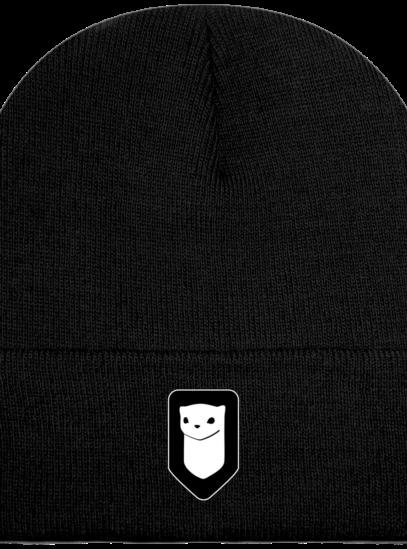 Bonnet / Tuque Breizh Traveller brodé - Black - Face