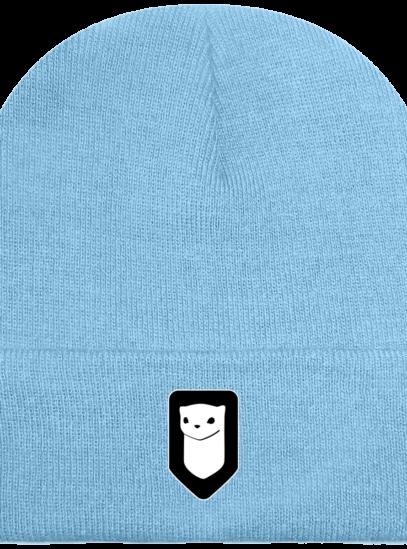 Bonnet / Tuque Breizh Traveller brodé - Sky Blue - Face