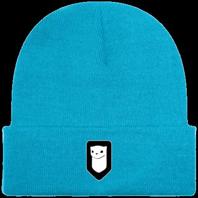 Bonnet / Tuque Breizh Traveller brodé - Surf Blue - Face