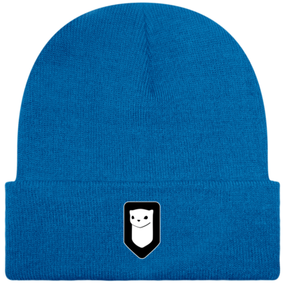 Bonnet / Tuque Breizh Traveller brodé - Sapphire Blue - Face