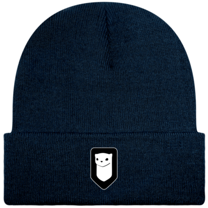 Bonnet / Tuque Breizh Traveller brodé - French Navy - Face