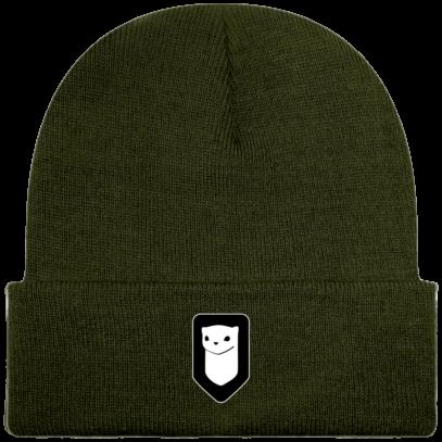 Bonnet / Tuque Breizh Traveller brodé - Olive - Face