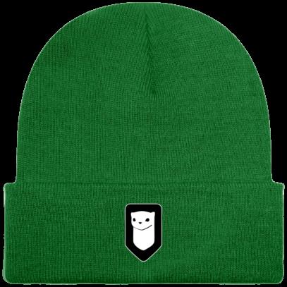 Bonnet / Tuque Breizh Traveller brodé - Kelly Green - Face