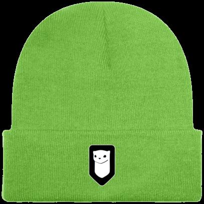 Bonnet / Tuque Breizh Traveller brodé - lime Green - Face