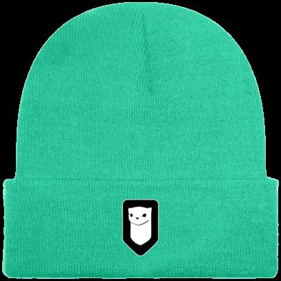 Bonnet / Tuque Breizh Traveller brodé - Mint - Face
