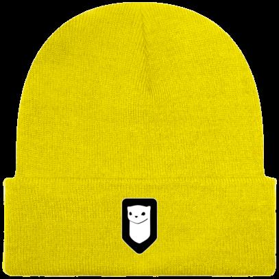Bonnet / Tuque Breizh Traveller brodé - Yellow - Face