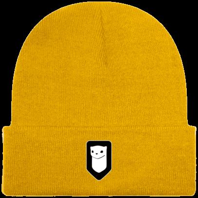 Bonnet / Tuque Breizh Traveller brodé - Gold - Face