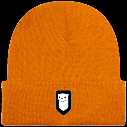 Bonnet / Tuque Breizh Traveller brodé - Orange - Face