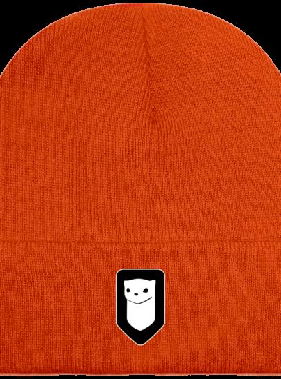 Bonnet / Tuque Breizh Traveller brodé - Coral - Face