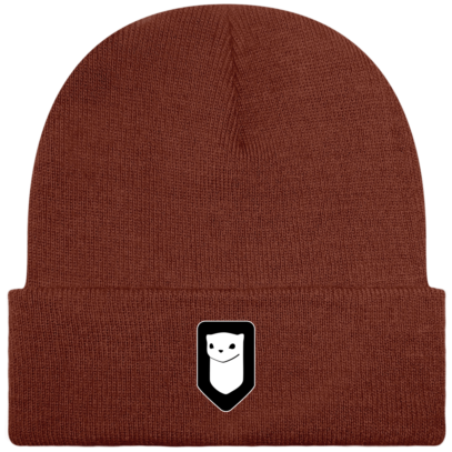 Bonnet / Tuque Breizh Traveller brodé - Rust - Face