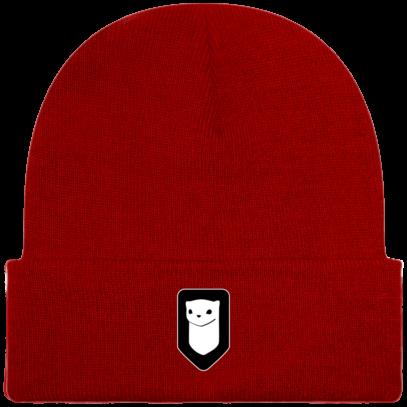 Bonnet / Tuque Breizh Traveller brodé - Classic Red - Face