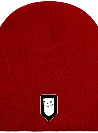 Bonnet / Tuque Breizh Traveller brodé - Classic Red - Face