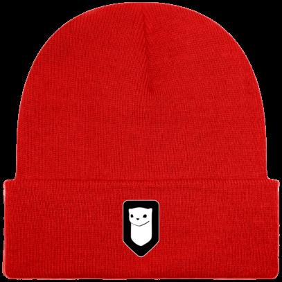 Bonnet / Tuque Breizh Traveller brodé - Bright Red - Face