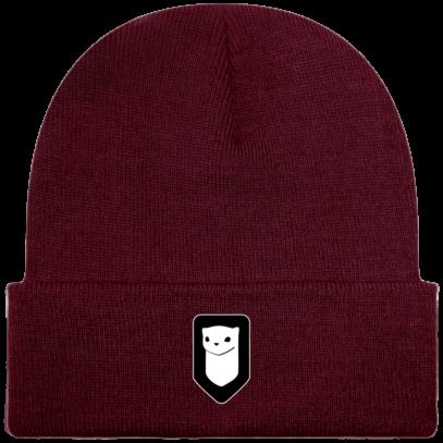 Bonnet / Tuque Breizh Traveller brodé - Burgundy - Face