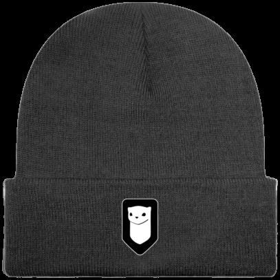 Bonnet / Tuque Breizh Traveller brodé - Graphite Grey - Face