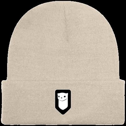 Bonnet / Tuque Breizh Traveller brodé - Sand - Face