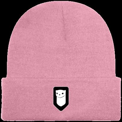 Bonnet / Tuque Breizh Traveller brodé - Classic Pink - Face