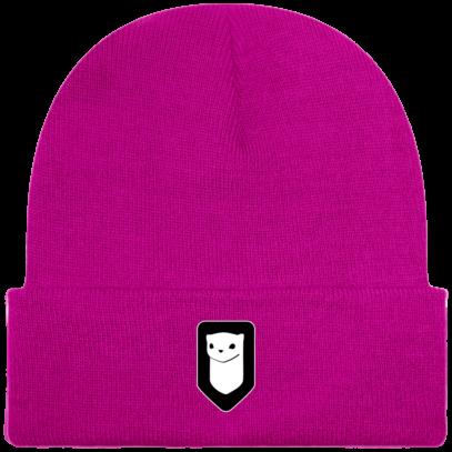 Bonnet / Tuque Breizh Traveller brodé - Fuchsia - Face