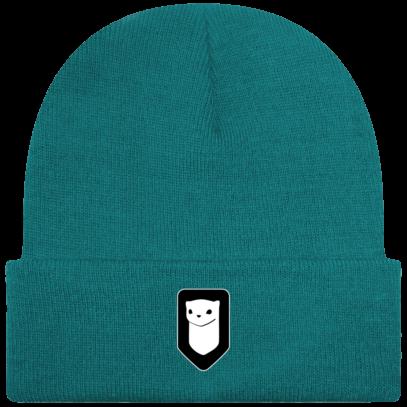 Bonnet / Tuque Breizh Traveller brodé - Teal - Face