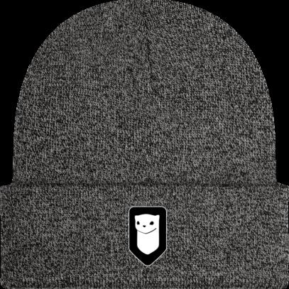 Bonnet / Tuque Breizh Traveller brodé - Antique Grey - Face