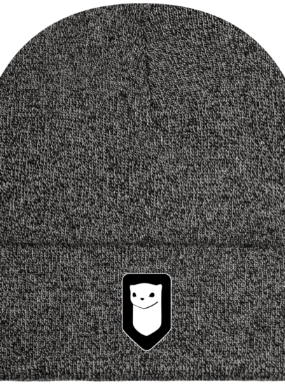 Bonnet / Tuque Breizh Traveller brodé - Antique Grey - Face
