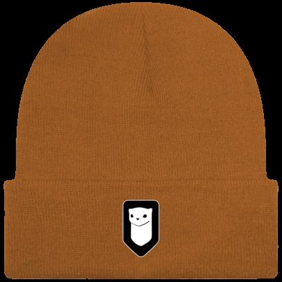 Bonnet / Tuque Breizh Traveller brodé - Caramel - Face