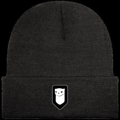 Bonnet / Tuque Breizh Traveller brodé - Charcoal - Face