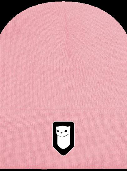 Bonnet / Tuque Breizh Traveller brodé - Dusky Pink - Face
