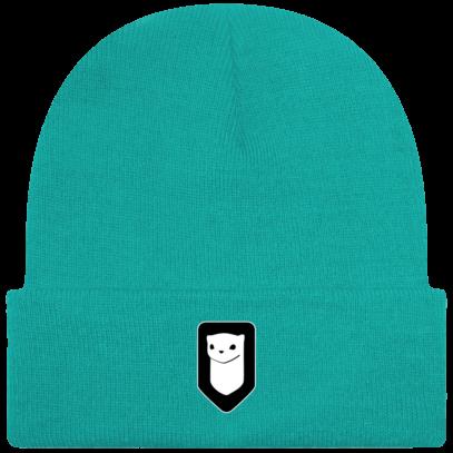 Bonnet / Tuque Breizh Traveller brodé - Emerald - Face