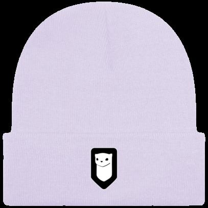 Bonnet / Tuque Breizh Traveller brodé - Lavender - Face