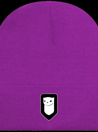 Bonnet / Tuque Breizh Traveller brodé - Magenta - Face