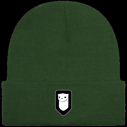 Bonnet / Tuque Breizh Traveller brodé - Moss Green - Face