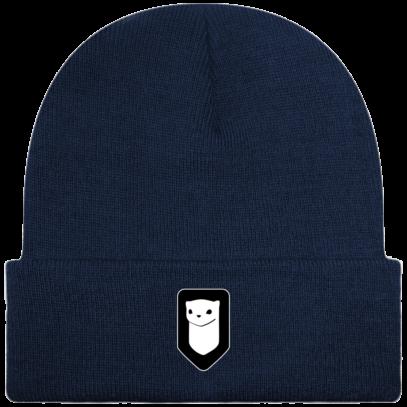 Bonnet / Tuque Breizh Traveller brodé - Oxford Navy - Face