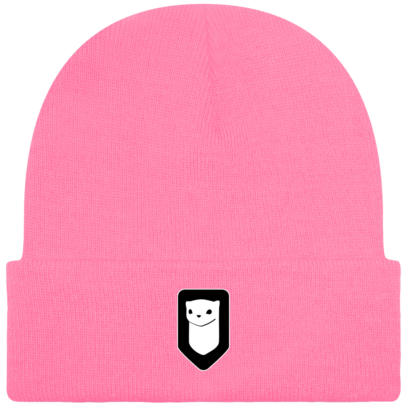 Bonnet / Tuque Breizh Traveller brodé - True Pink - Face