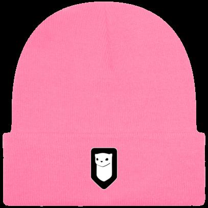 Bonnet / Tuque Breizh Traveller brodé - True Pink - Face