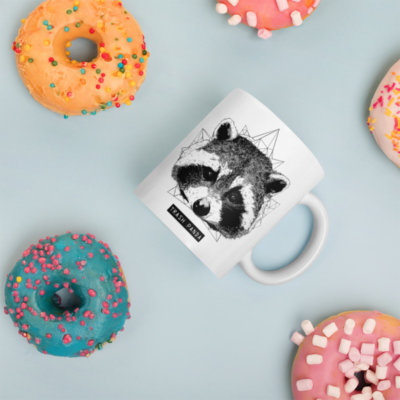 Tasse Raton Laveur – Mug Racoon – Trash Panda
