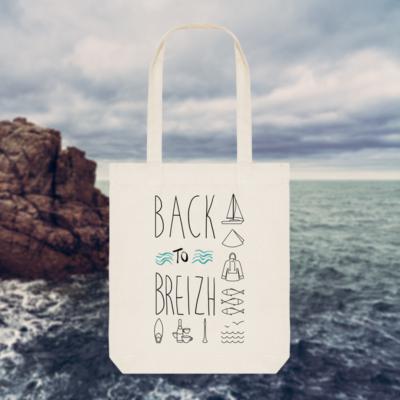 Tote Bag Back to Breizh – De retour en Bretagne