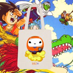 Tote Bag DBZH Breizh Daruma Dragon Ball Z