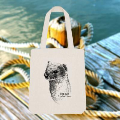 Tote Bag Hermine Bretonne – Breizh Traveller