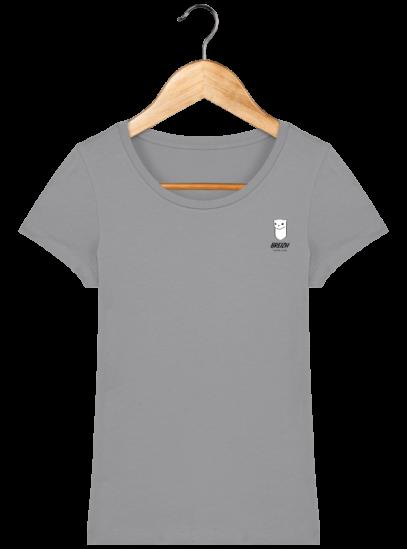 Tee Shirt Femme Hermine Bretonne - Breizh Traveller - Opal - Face