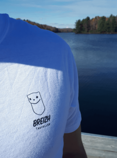 Breizh traveller logo tshirt