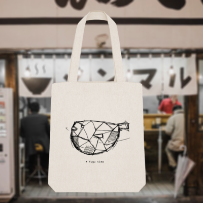 Tote bag Fugu time – Japon