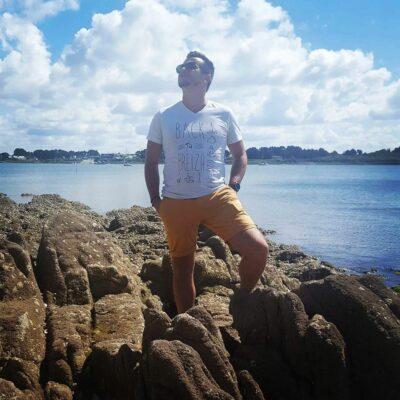 T-Shirt Bretagne – Back to Breizh – De retour en Bretagne
