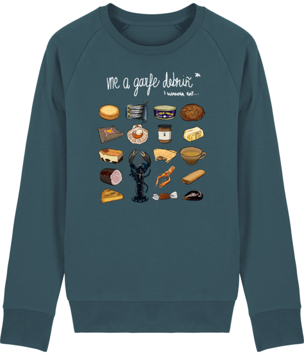 Sweat Shirt Breton - Gastronomie Bretonne - Stargazer - Face