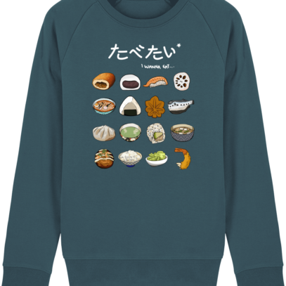 Sweat Shirt Gastronomie Japonaise / Japanese food - Stargazer - Face
