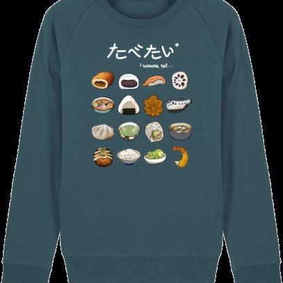 Sweat Shirt Gastronomie Japonaise / Japanese food - Stargazer - Face