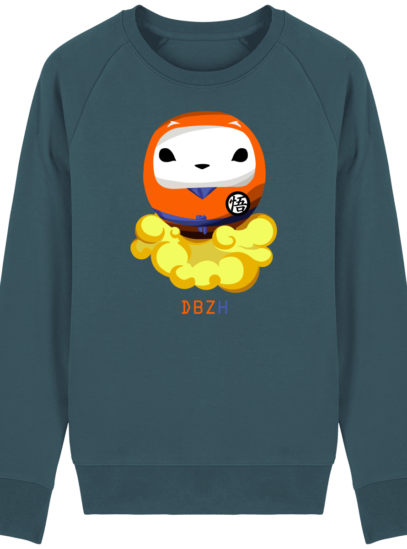 Sweat Shirt Breton - DBZH Breizh Daruma Dragon Ball Z - Stargazer - Face