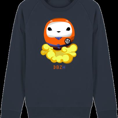 Sweat Shirt Breton - DBZH Breizh Daruma Dragon Ball Z - French Navy - Face