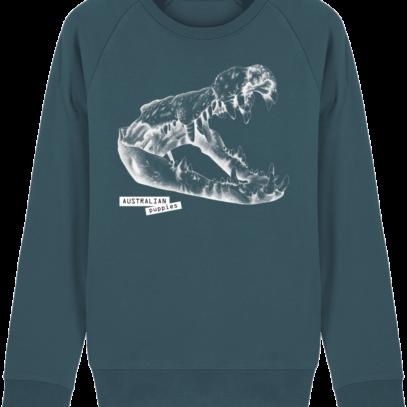 Sweat Shirt Crocodile - Australian Puppies - Stargazer - Face